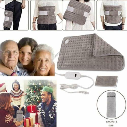 Auto-Off Electric Heating Pad Muscle Therapy