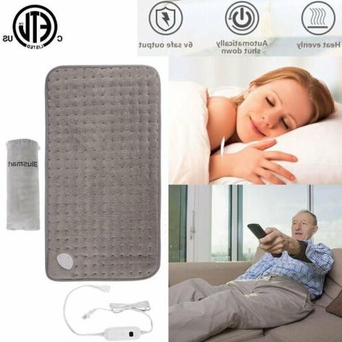 auto off timer electric heating pad health
