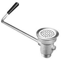 T and S Brass B-3942 Rotary Waste Valve with Twist Handle