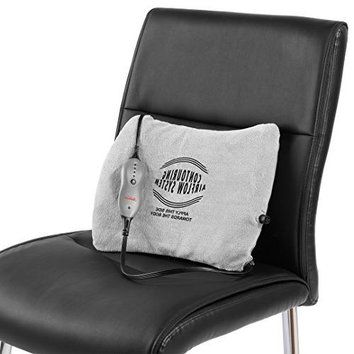 Sunbeam Heating Pad for Back Pain Relief Self-Inflating, with   12-Inch x 16-Inch