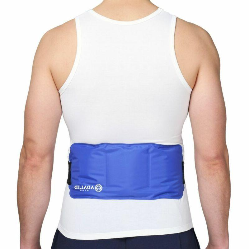 Back Gel Ice Pack Wrap for Hot & Cold on Large You