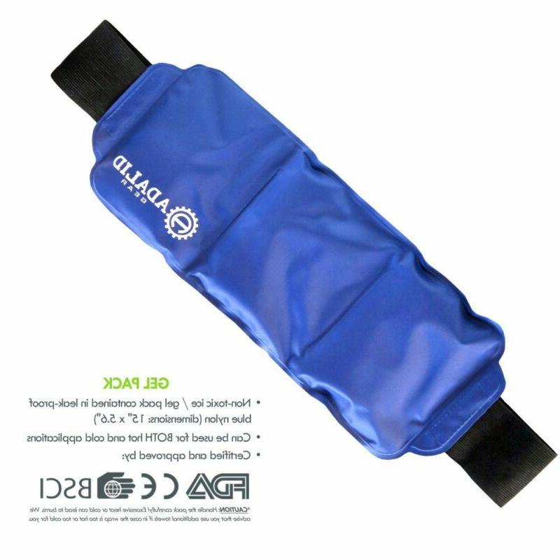 Back Pack Wrap for Cold Pain Relief You