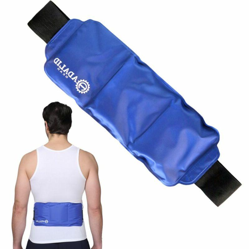 Back Gel Ice Pack Wrap Hot Cold Pain You