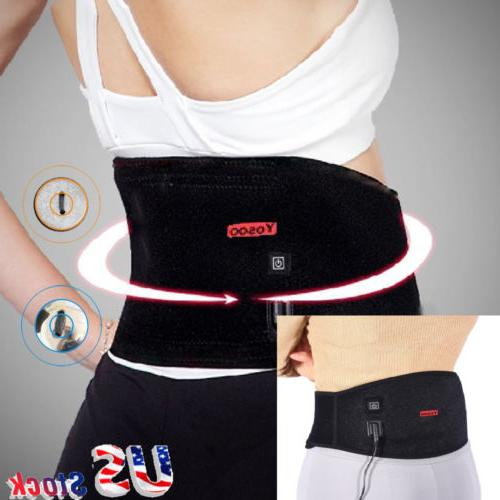 Yosoo Support Belt Waist Pad Brace Pain Relief Lumbar
