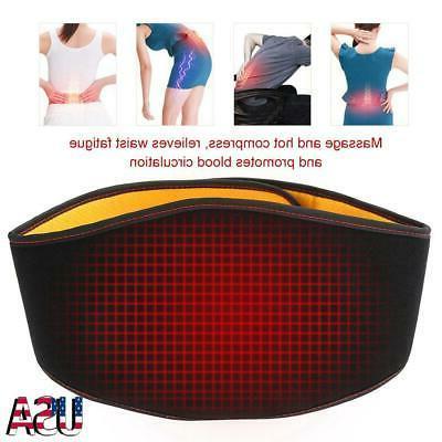 back support belt waist heating pad hot