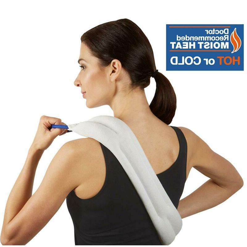 bed buddy heat pad and cooling neck