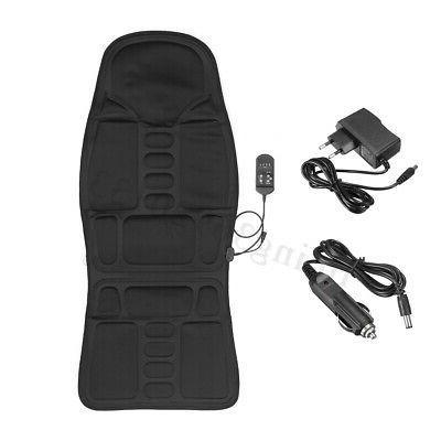 Car Massage Heated Seat Cushion Lumbar 12V