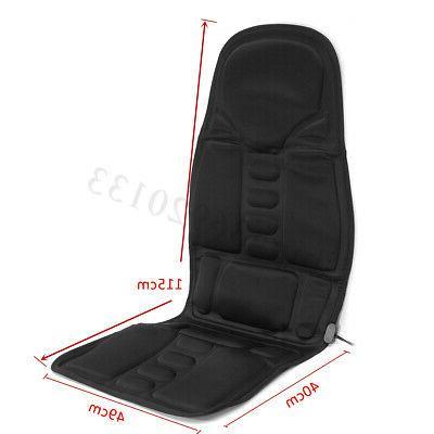 Car Heated Seat Cushion Back Pain Lumbar 12V