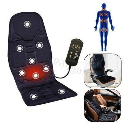 car massage heated seat cushion back neck
