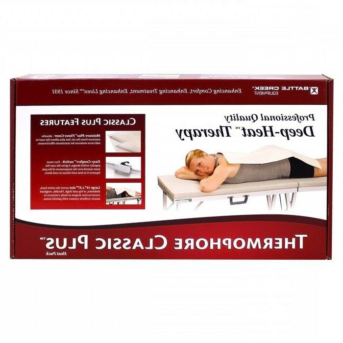classic plus moist heating pad with cover