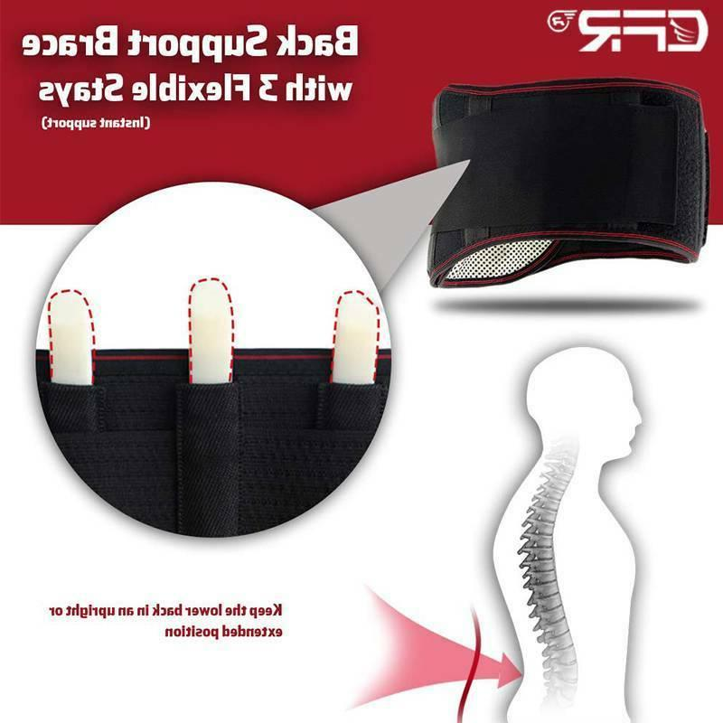 Decompression Support Belt Magnetic Heating Pad