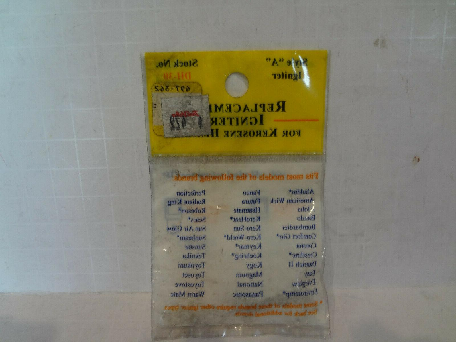 "DH-30 Style ""A"" Igniter  New Fits Sears, Robeson,Kero-Sun,Ma"
