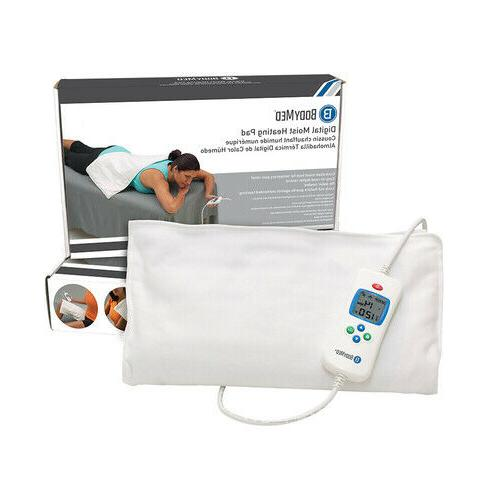 BodyMed Digital Moist Heating Pad Easy To Read LCD Controls