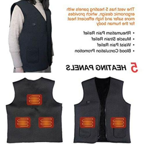 Electric Heated Pad Body Clothing
