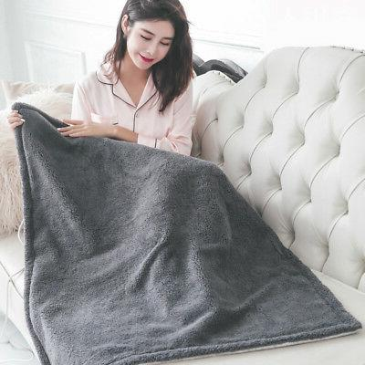 Electric Blanket Pad Washable Fast Warming with 220V