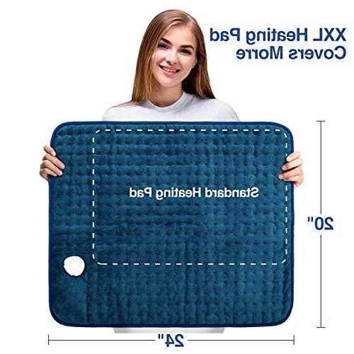 "Veken Pad Dry Machine XXL Heat Cramps/Back/Knee/Neck and 24"", Blue)"