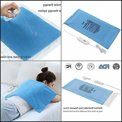 electric heating pad fast heat with auto