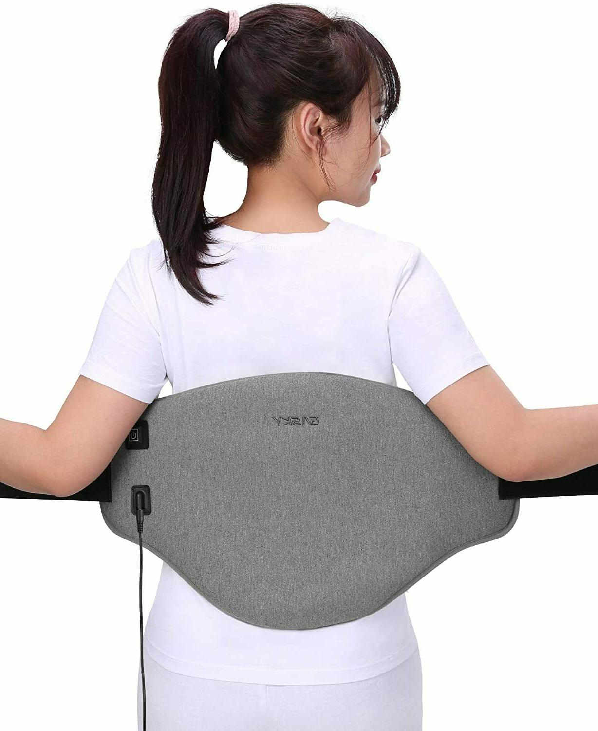 electric heating pad for lower back