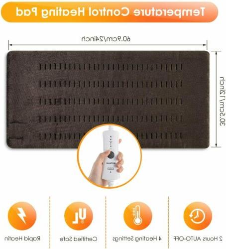 XL Electric Heating - Moist and Neck/Back/Shoulders Heating Pad