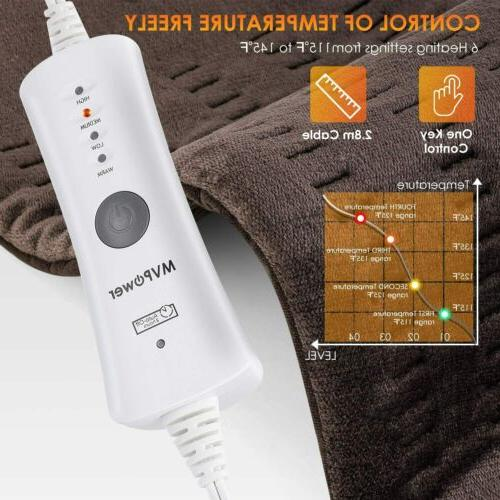 XL Electric Heating Pad - Moist and Neck/Back/Shoulders Pad