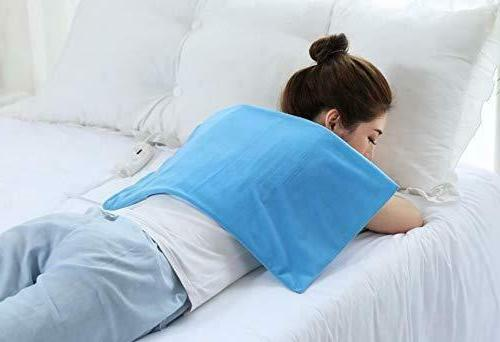 Electric Heating Pad KING SIZE Pain Dry Heat Neck Shoulders