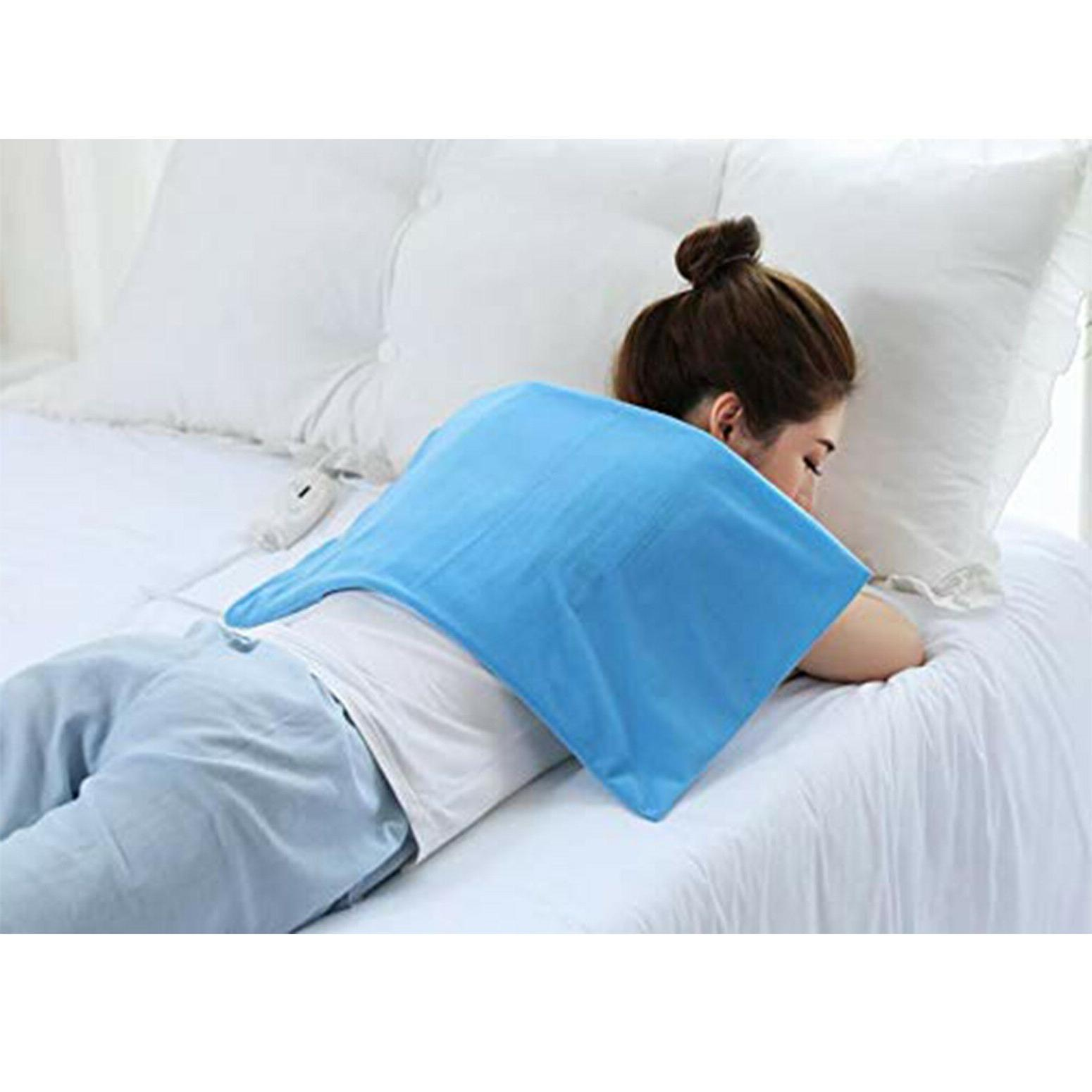 Electric Heating Pad King Size Dry Moist Neck 4 Heat
