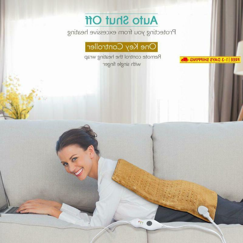Electric King Size Ultra Soft Heat Therapy Abdomen,