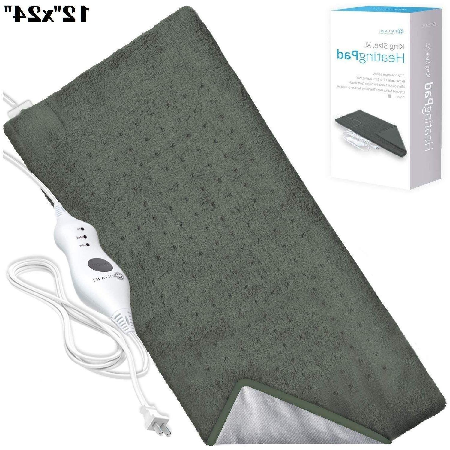 electric heating pad king size xl fast