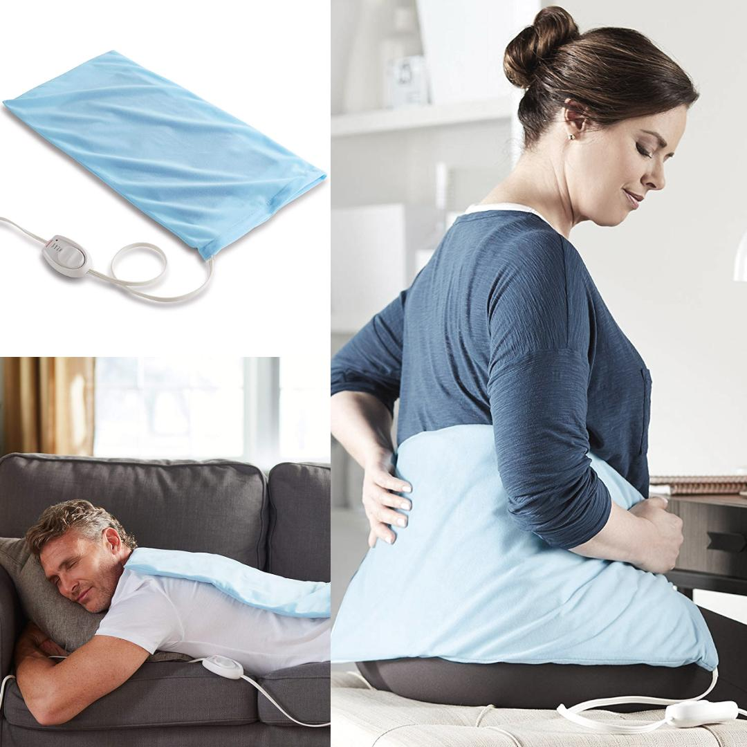 electric heating pad warm stomach neck shoulder