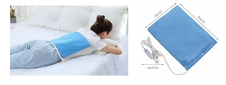 electric heating pad moist dry heat pain
