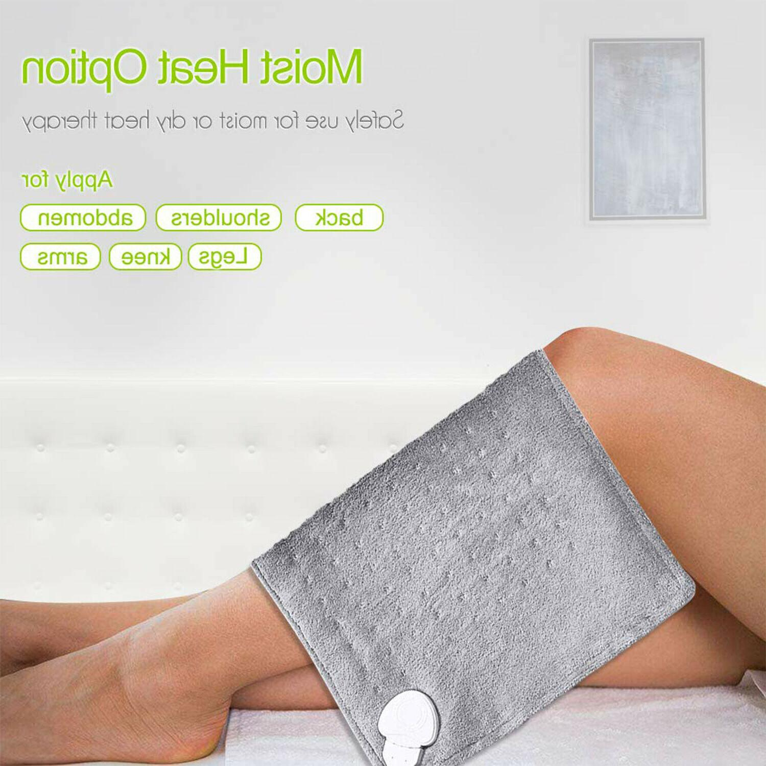 Large Electric Pad King Size Shoulders Neck Pain Therapy