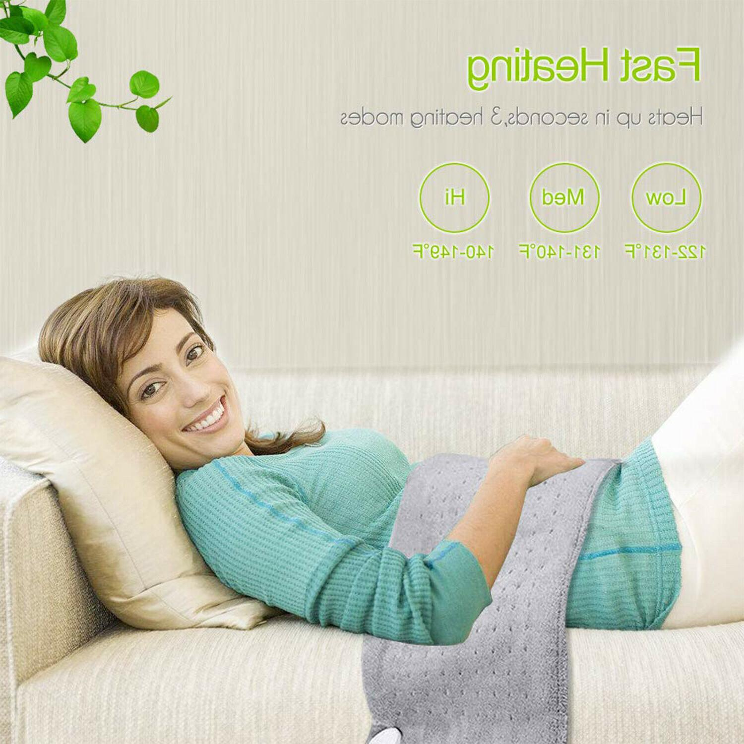 Large Electric Heating King Shoulders Pain Relief Therapy