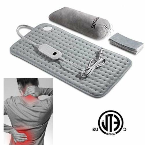 Electric Heating Pad USB Feet Back Neck Health Care Parent Gift
