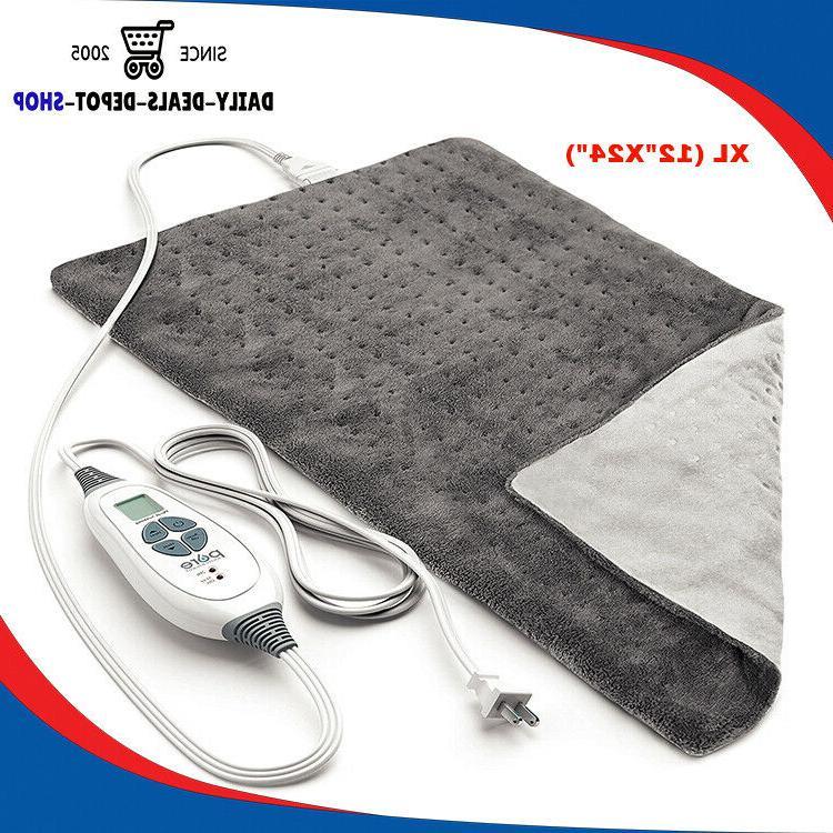 electric heating pads for back shoulder neck