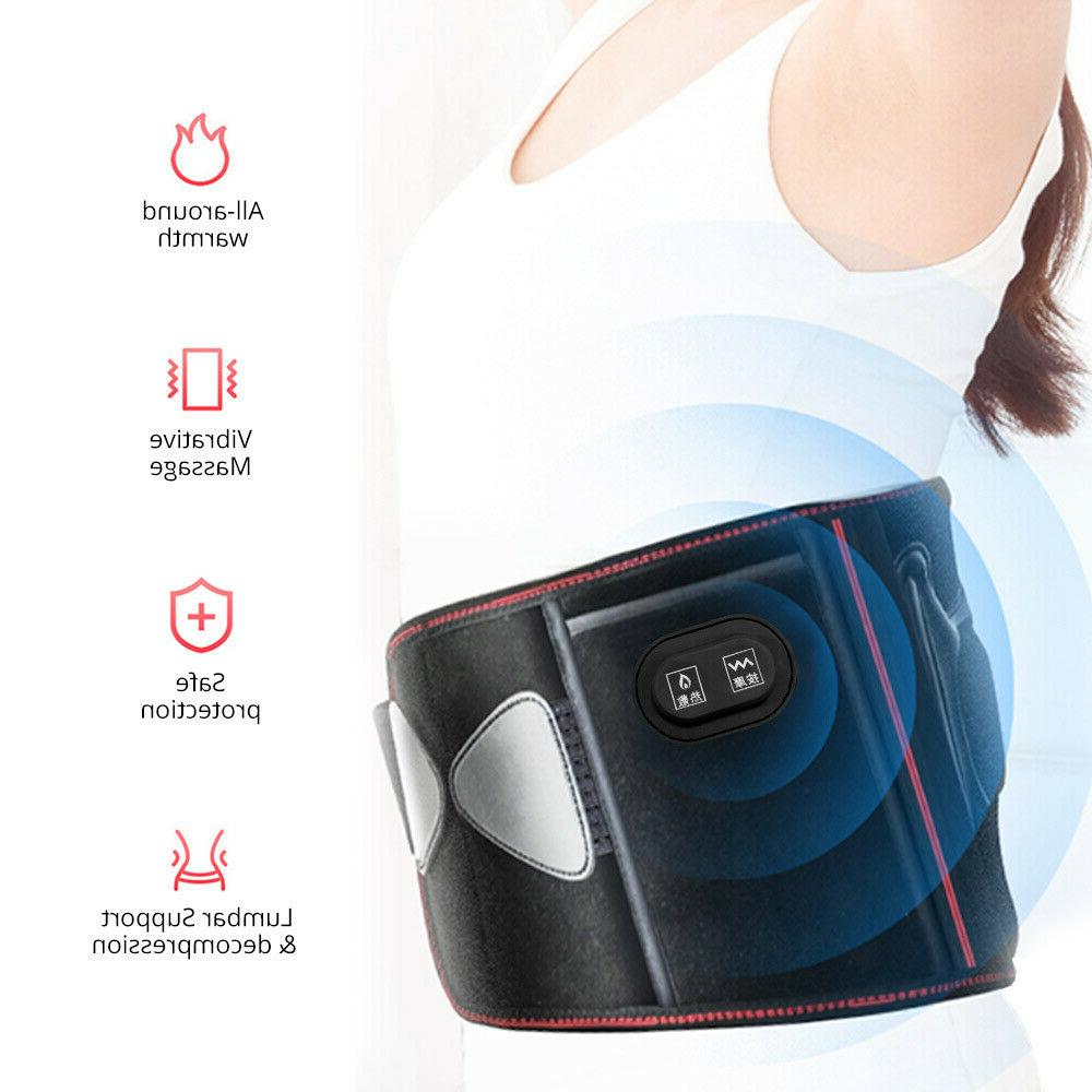 Electric Heating Warm Belt Pad Warmer Belt Therapy Hot Compr