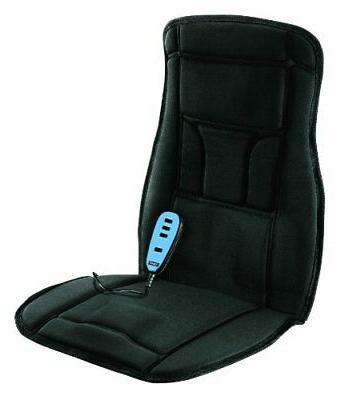 Electric Massage Seat With Car Cushion Back Neck Vibration