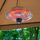 Electric Patio Heater Outdoor Infrared Hanging Deck Radiator