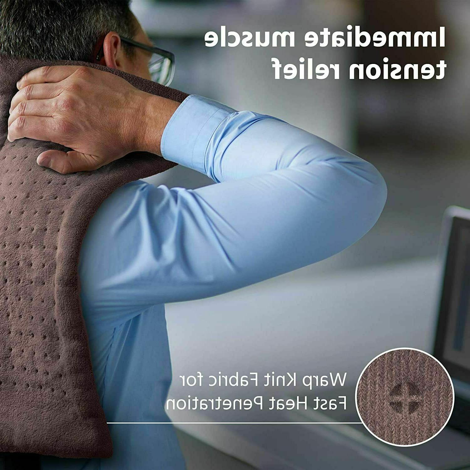 XL Pad Neck/Back/Shoulders Heating Pad