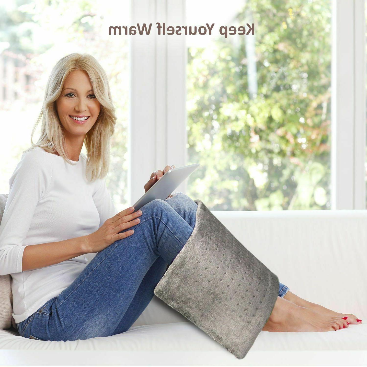 XL Electric Heating for Pad Tabby Gray