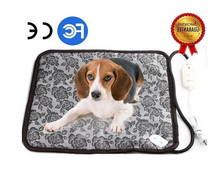 Electronic Heating Dog Mat Rug Washable Blanket
