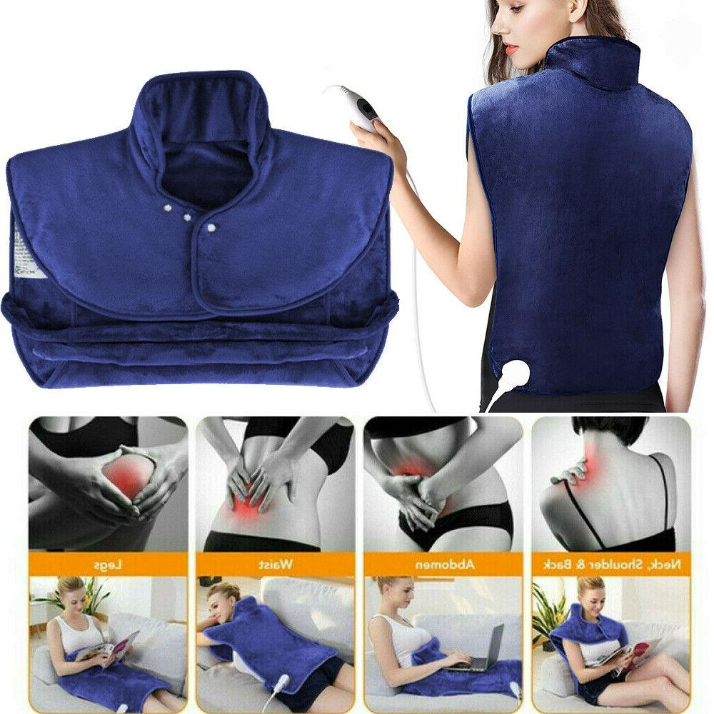extra large electric heating pad full back