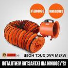 "12"" Extractor Fan Blower Ventilator + 5M Duct Hose Electrica"
