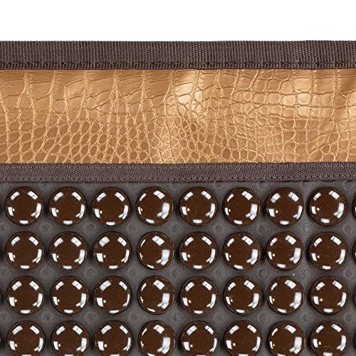 HL HEALTHYLINE - Far Infrared Heating Mat 3 Therapy x Stones - - Heating - Auto Timing, Settings FDA