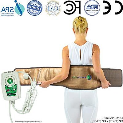 far infrared heat therapy belt for back