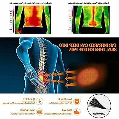 Far Infrared Hot Pad Therapy for Back/Stomach