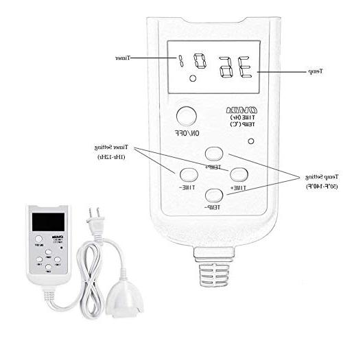 XUYU Far Pad mat Digital LED Controller Moist Therapy on Neck and