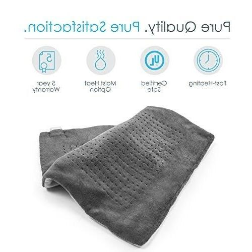 "Fast Heating Electric Pad 24"" 6 Off"