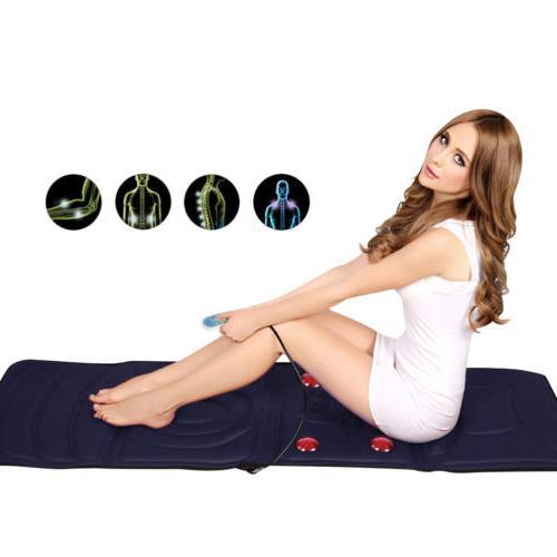 Full-Body 9-Motor Massager Massage Mat Heat