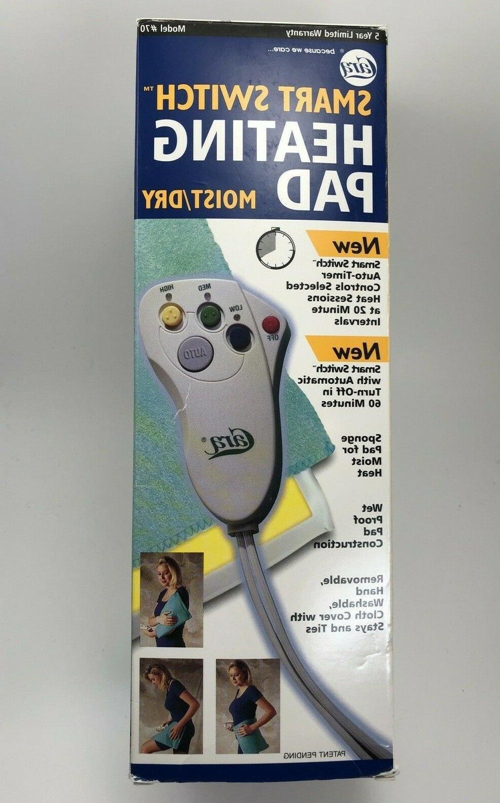 g746 smart switch moist dry heating pad