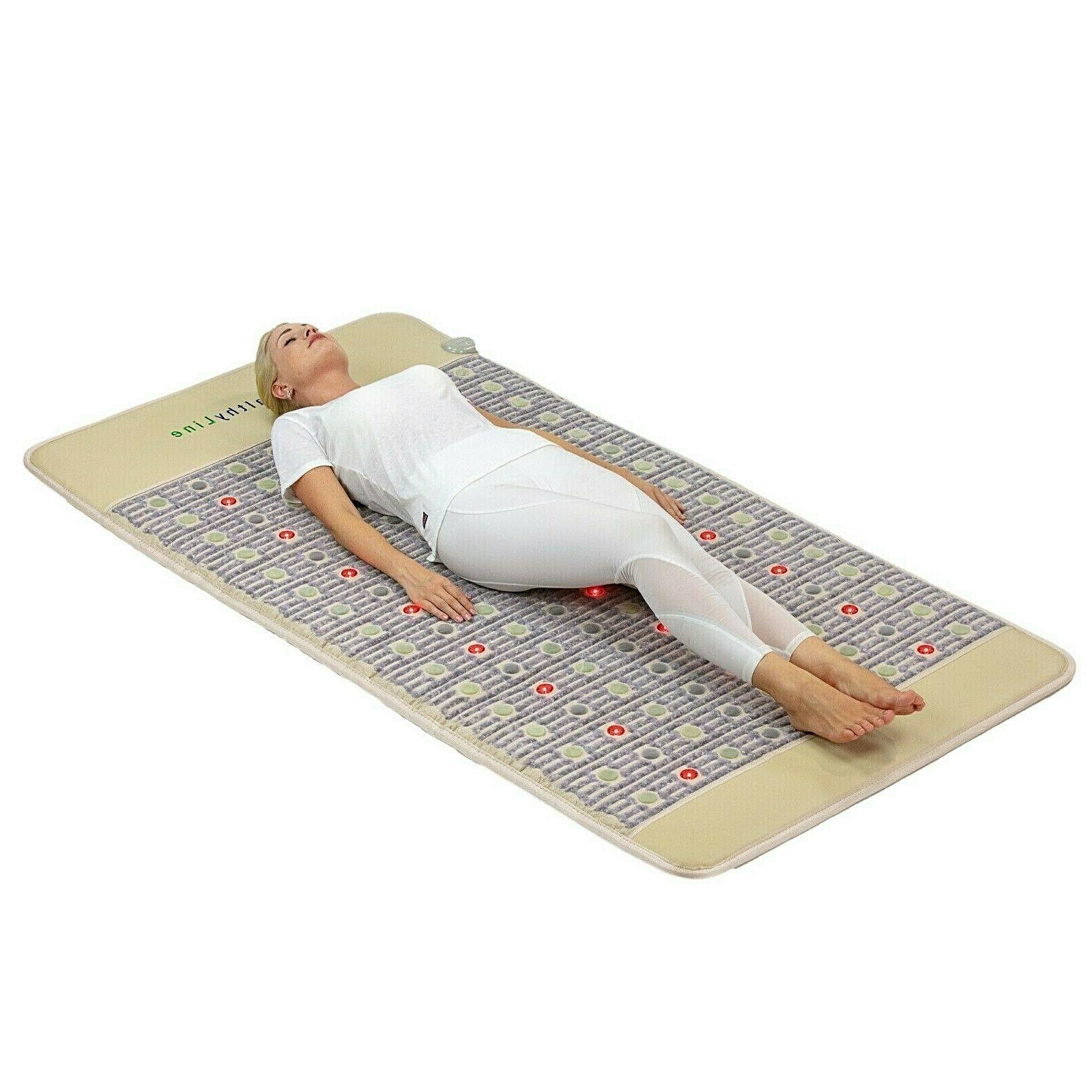 healthyline infrared heating pad pain management pemf